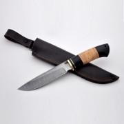 Нож Медведь Путник (дамаск)